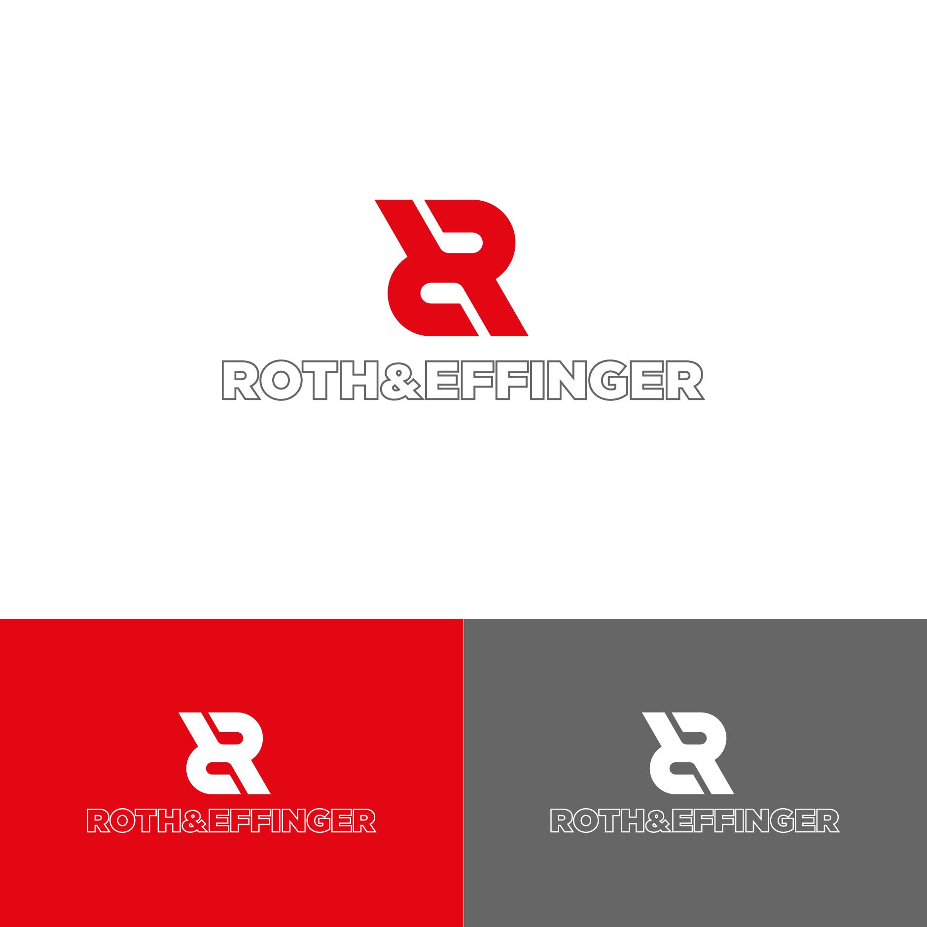 Logo Gestaltung Redesign für ROTH&EFFINGER GmbH