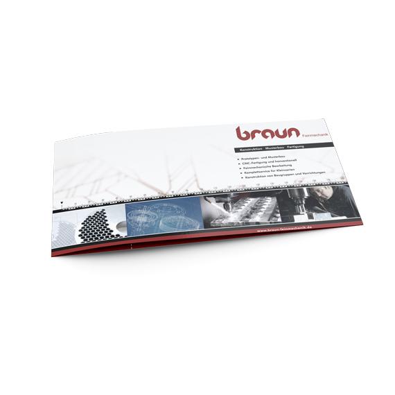 BRAUN Gestaltung Infoflyer 570-ARBEITEN