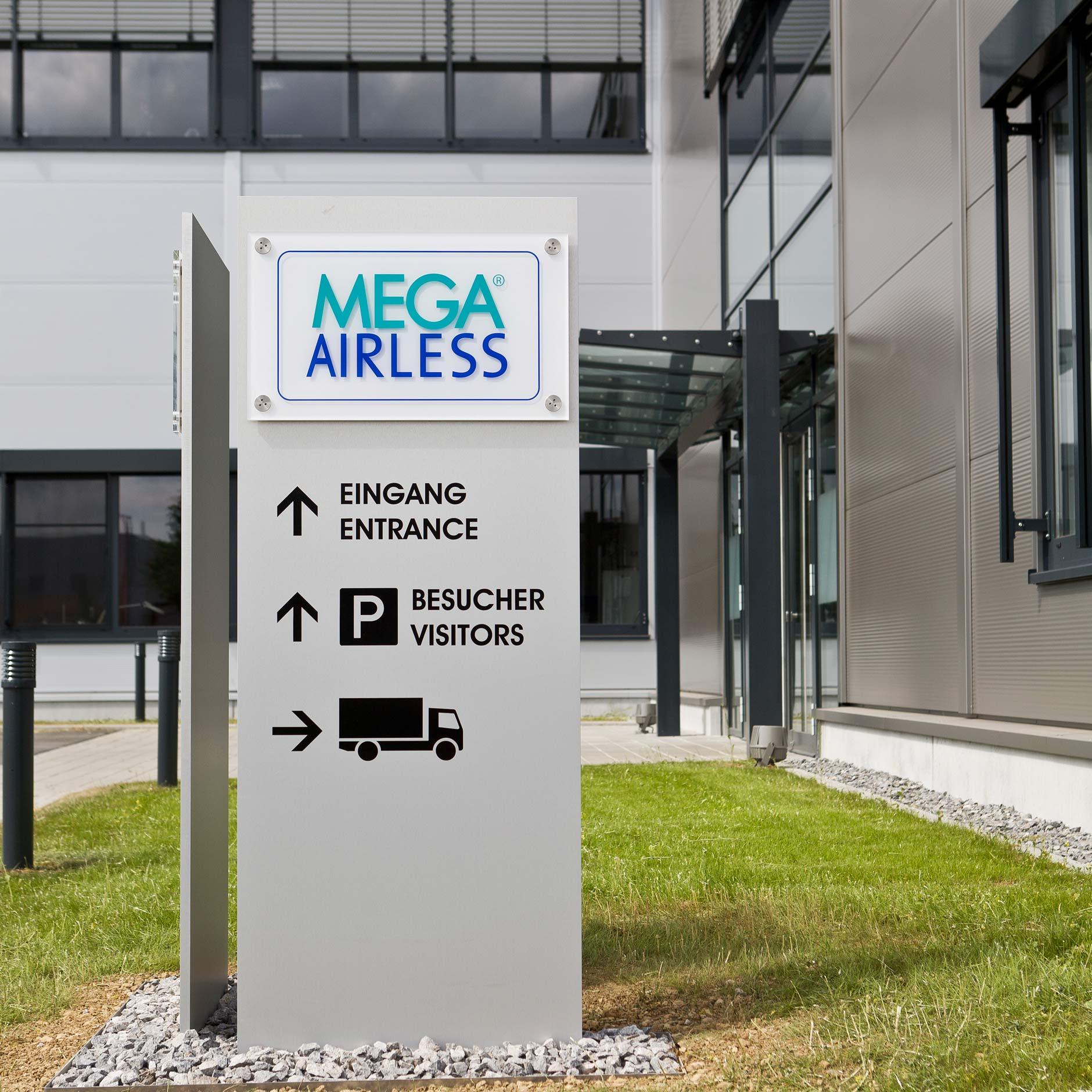 Standschilder MEGA-AIRLESS
