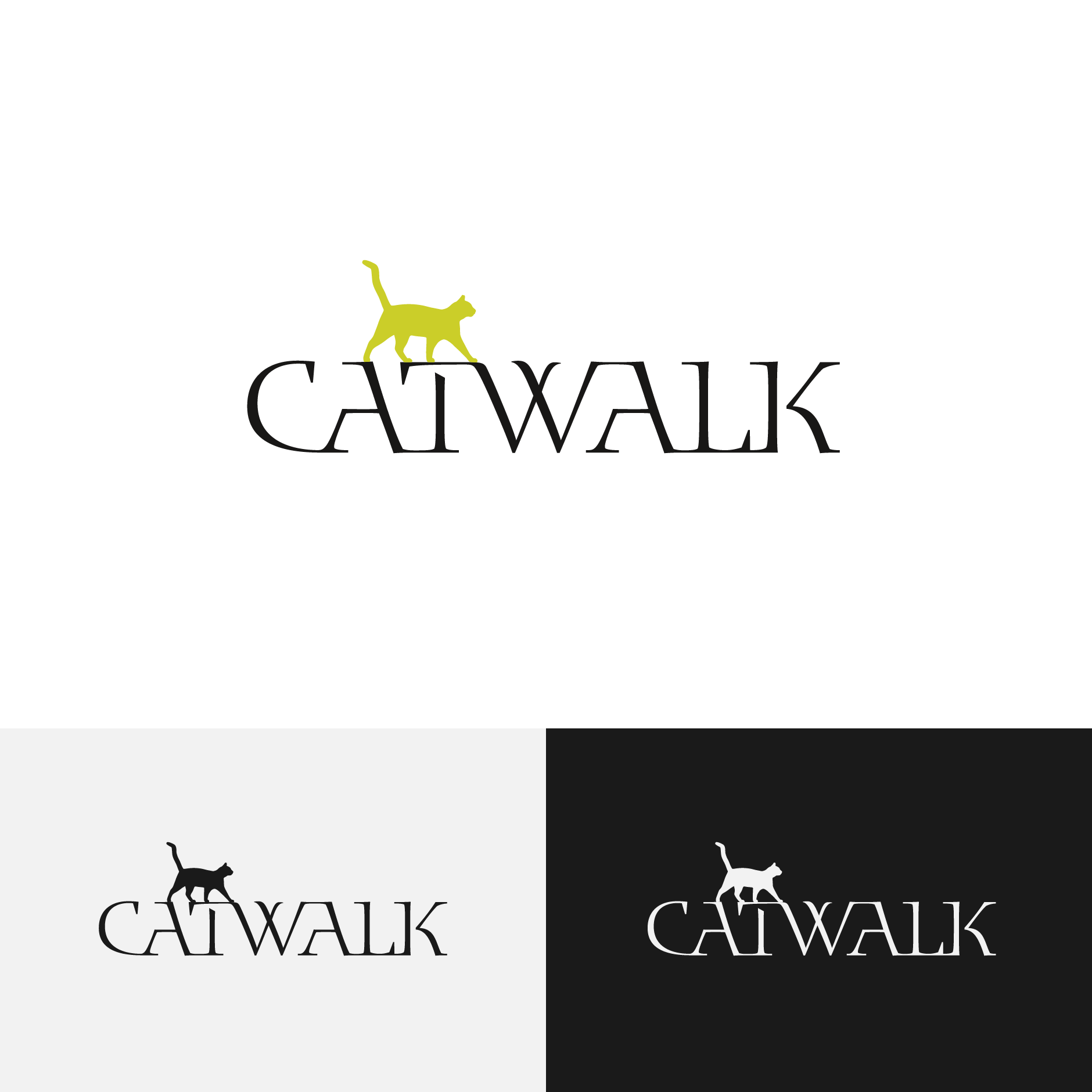 Logo Design CATWALK