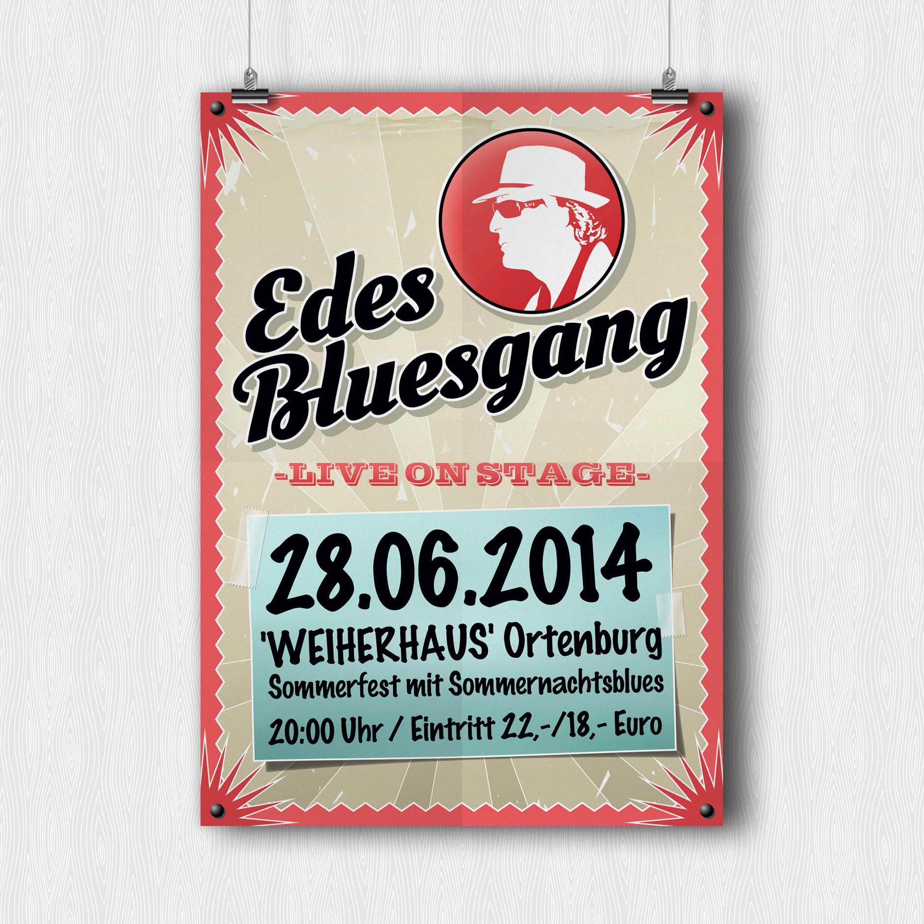 Plakat EDEs BLUESGANG