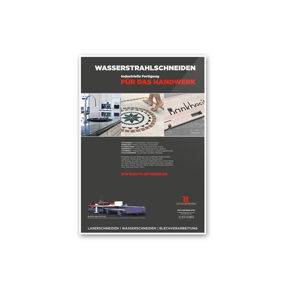 Plakatgestaltung Roth Effinger 570-ARBEITEN