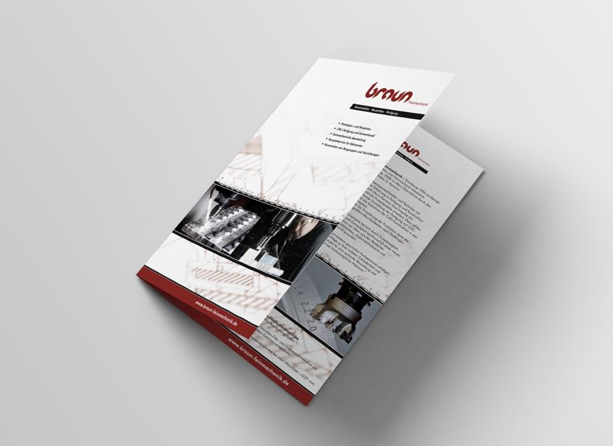 Broschüre Braun Feinmechanik
