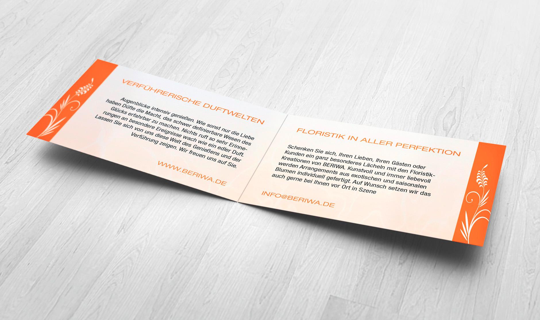 Beriwa visitenkarte innen-Printdesign - CI BERIWA
