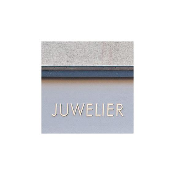 Beschriftung Juwelier Mueller 570-ARBEITEN