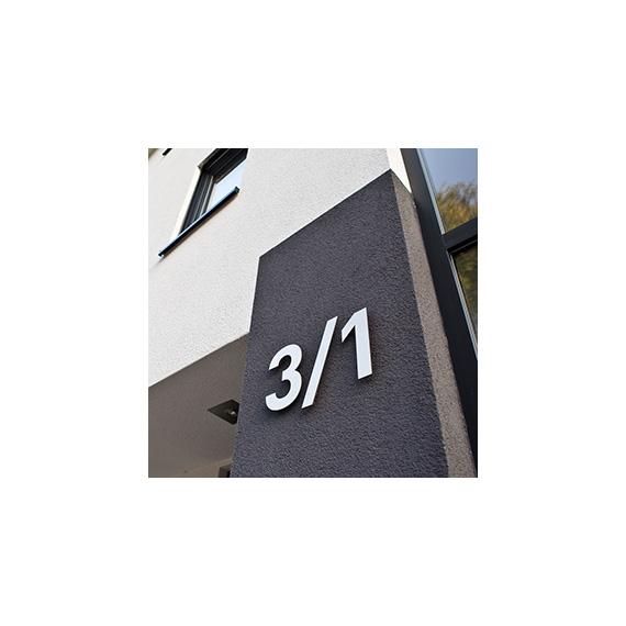Edelstahl Hausnummern SWR 570-ARBEITEN