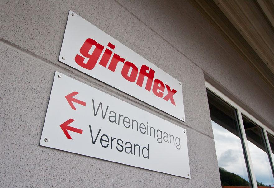 Objektbeschilderung Giroflex