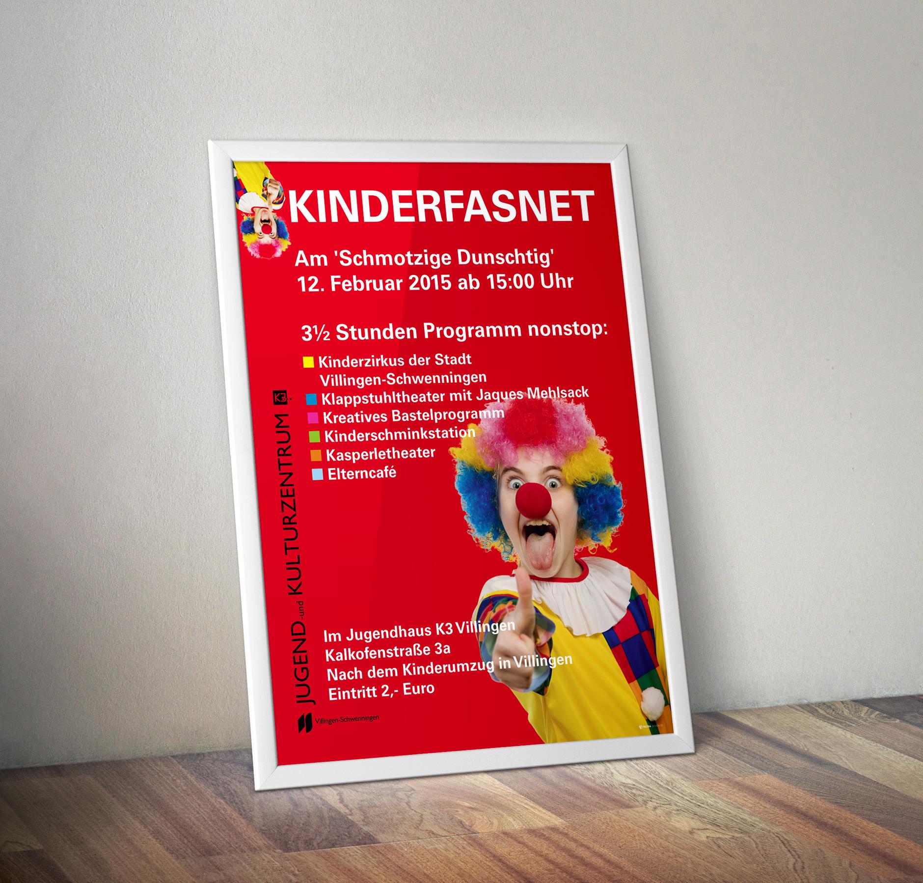 Plakat K3 Kinderfasnet