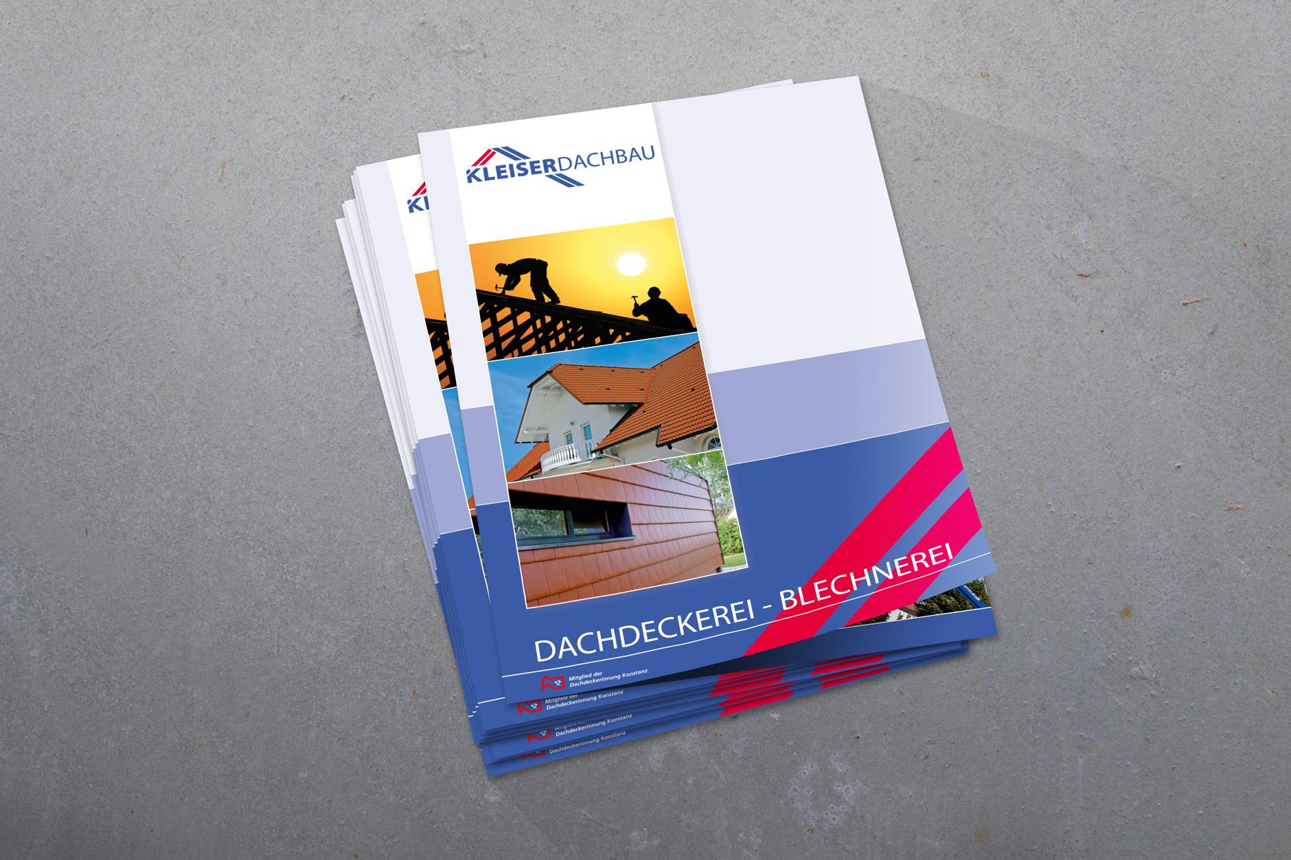 Broschüre KLEISER DACHBAU