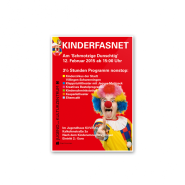 Plakatgestaltung KINDERFASNET K3