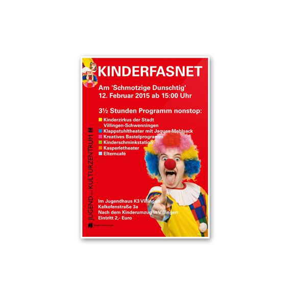 Plakatgestaltung Kinderfasnet K3 570-ARBEITEN
