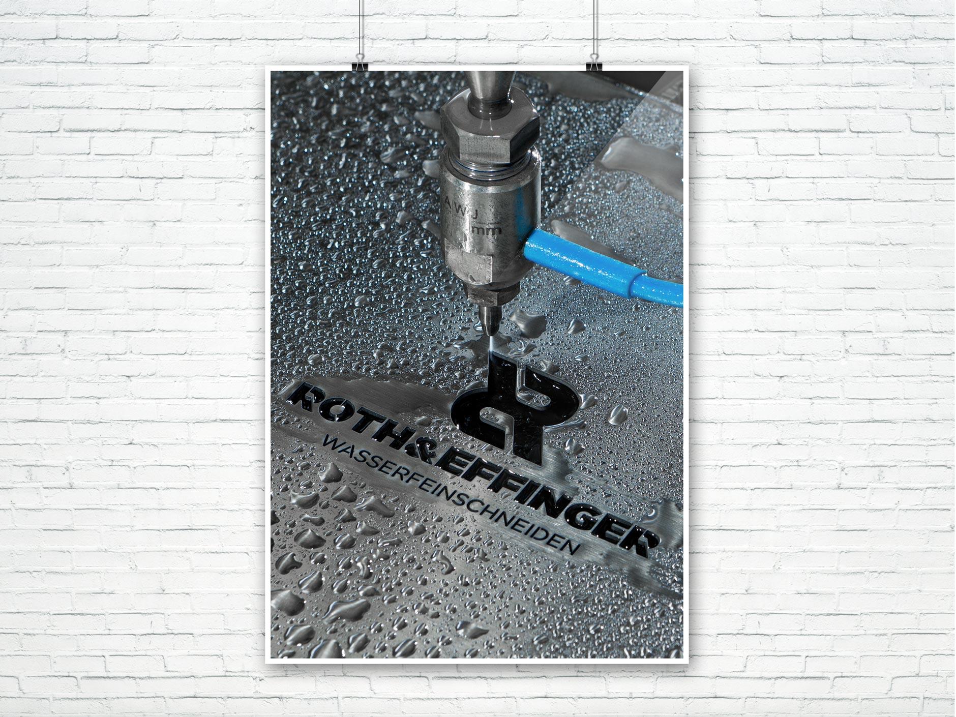 Foto Wasserfeinschneiden ROTH&EFFINGER