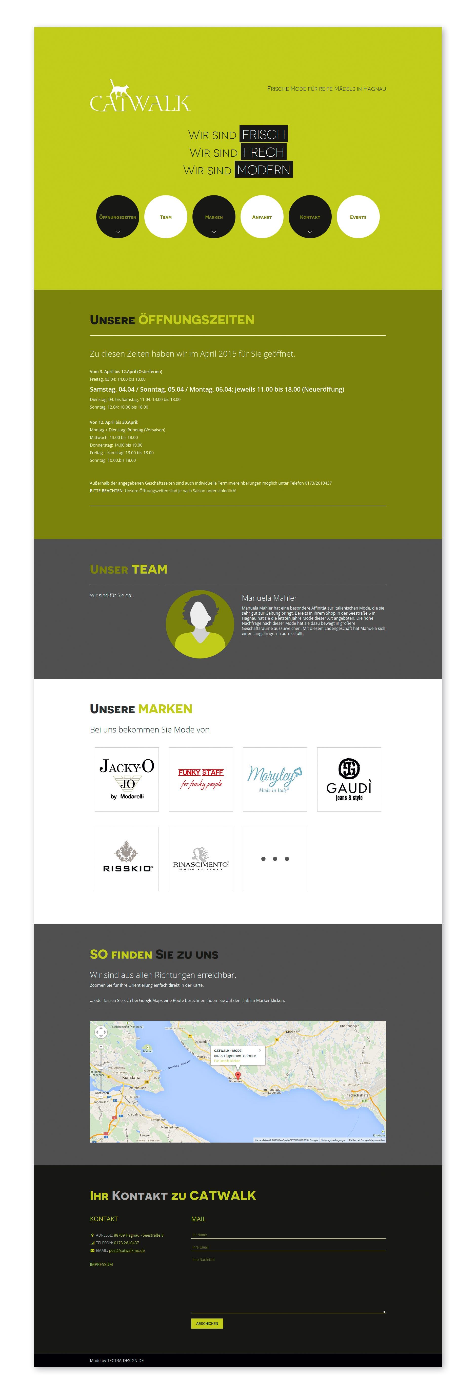 Design Website CATWALK