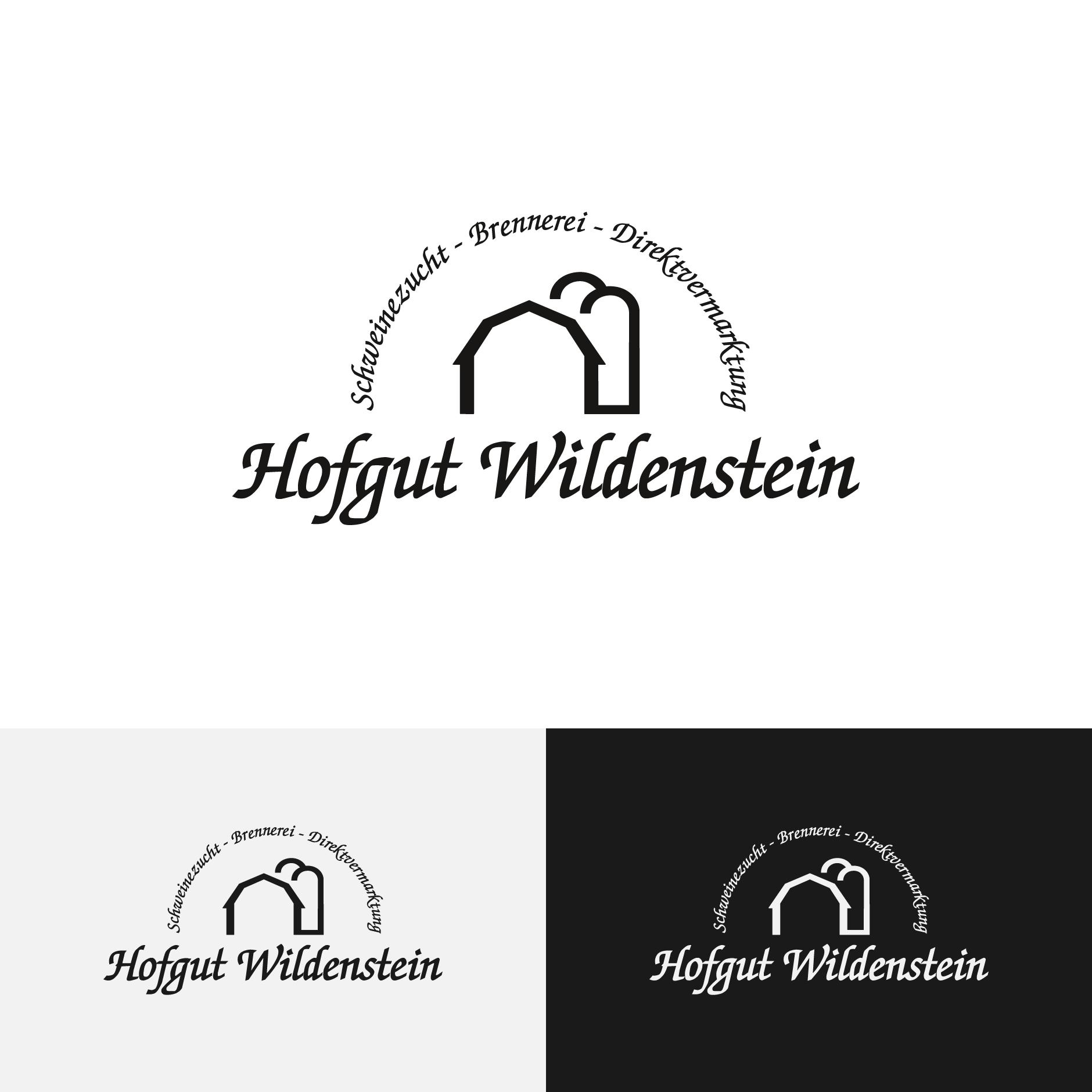 Wildenstein Logo-Logodesign Hofgut