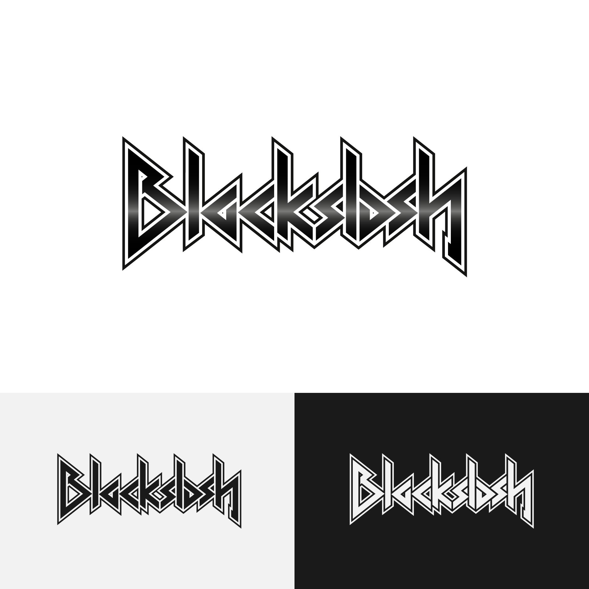 blackslash logo-Bandlogo
