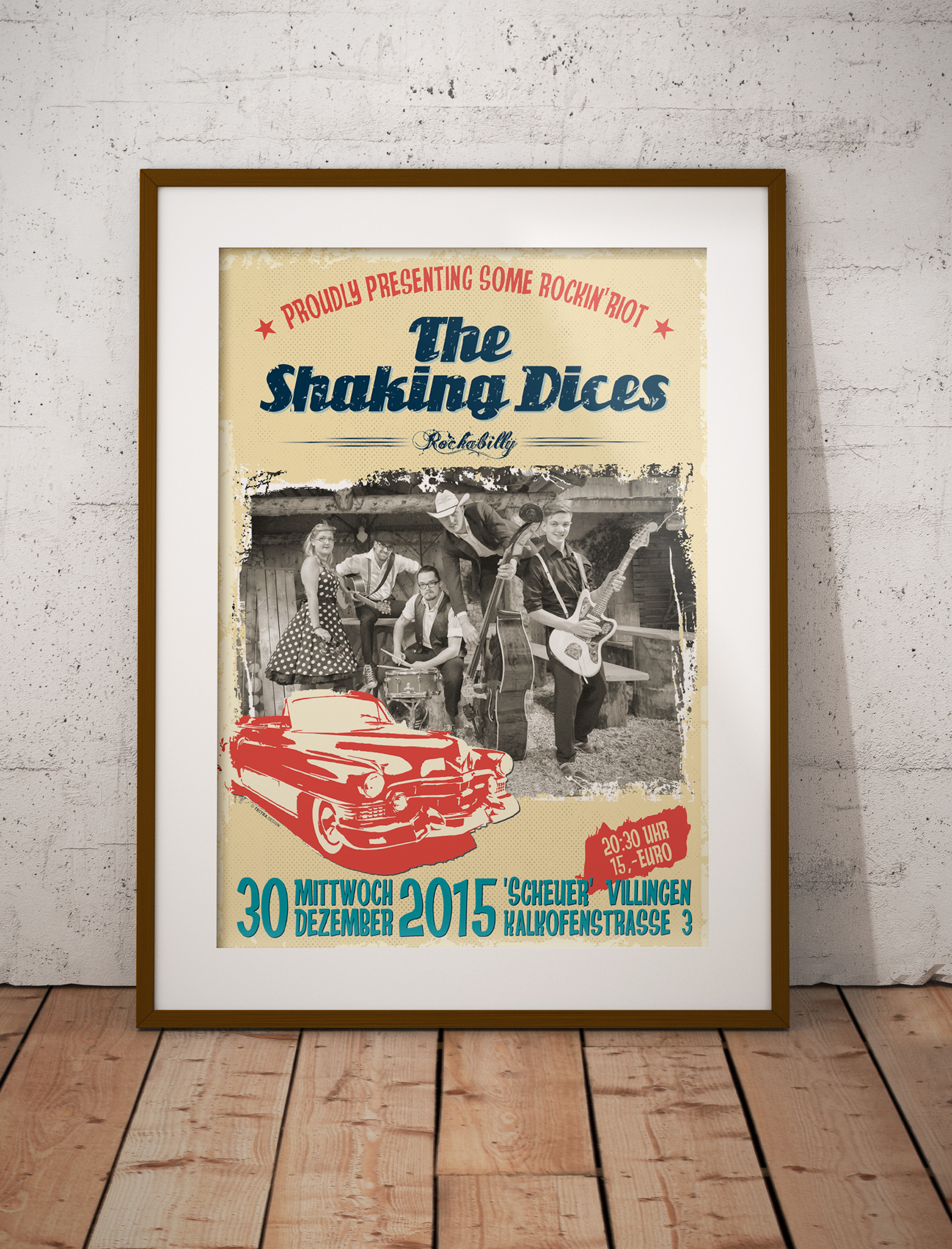 THE SHAKING DICES Plakat-PLAKAT SHAKING DICES