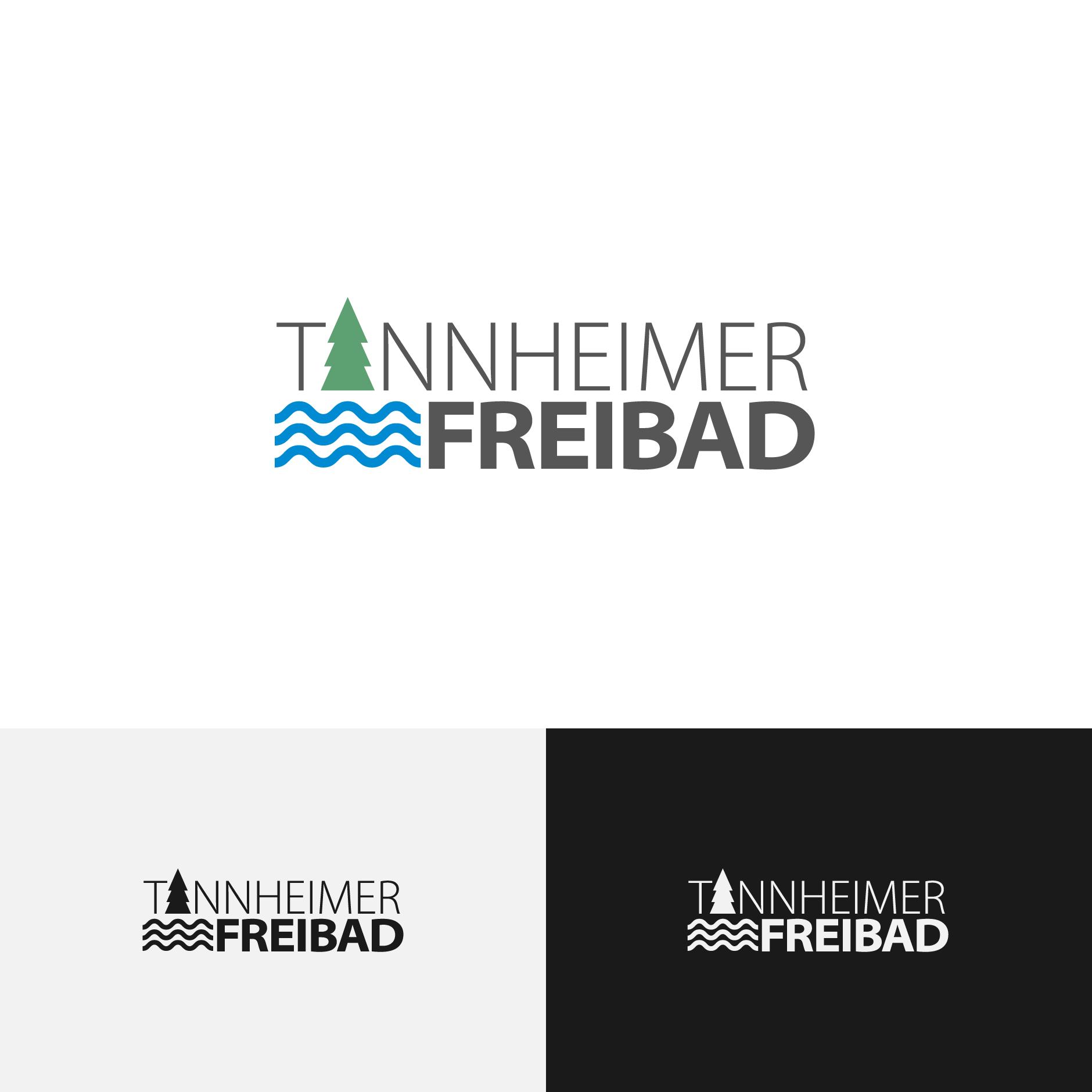 Freibad Tannheim Logo-Logodesign Freibad Tannheim
