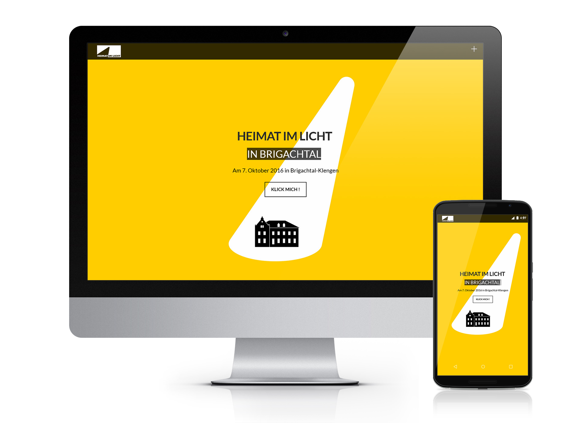 Heimat Im Licht Brigachtal Website-HEIMAT IM LICHT Logodesign Webdesign Printdesign