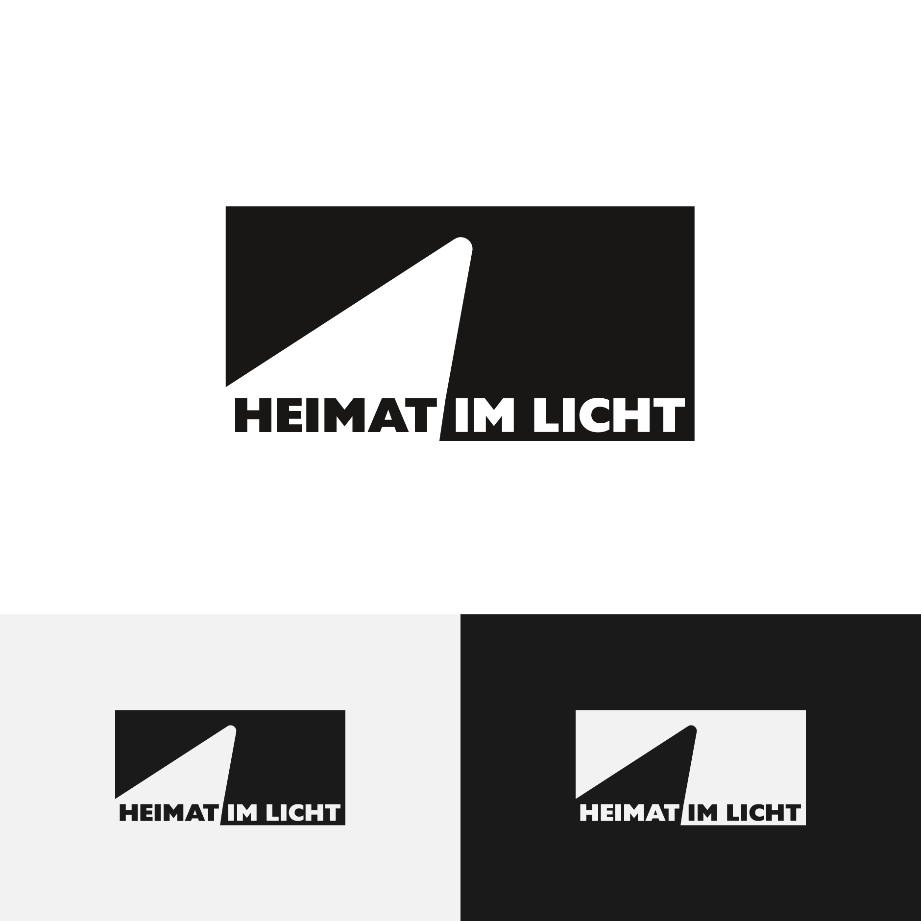 Heimat Im Licht logo-HEIMAT IM LICHT Logodesign Webdesign Printdesign