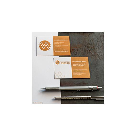 Corporate Identity Wernick 570-ARBEITEN