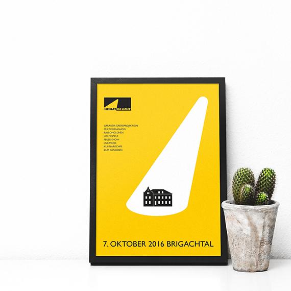 Plakatgestaltung Heimat im Licht Brigachtal