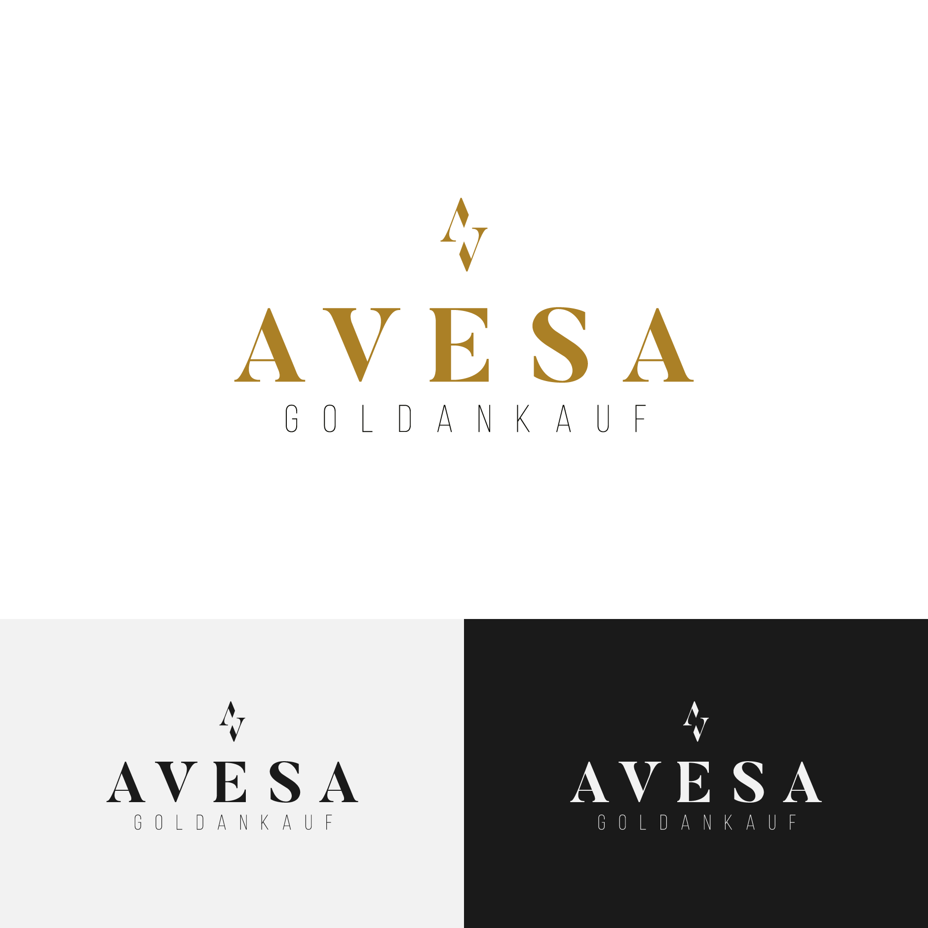 AVESA logodesign 1880x1880-Logodesign AVESA Goldankauf