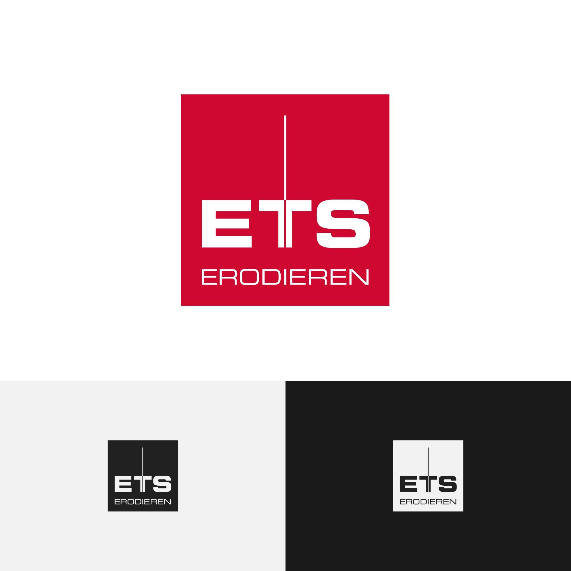 ets erodiertechnik logogestaltung-Logodesign ETS Erodiertechnik