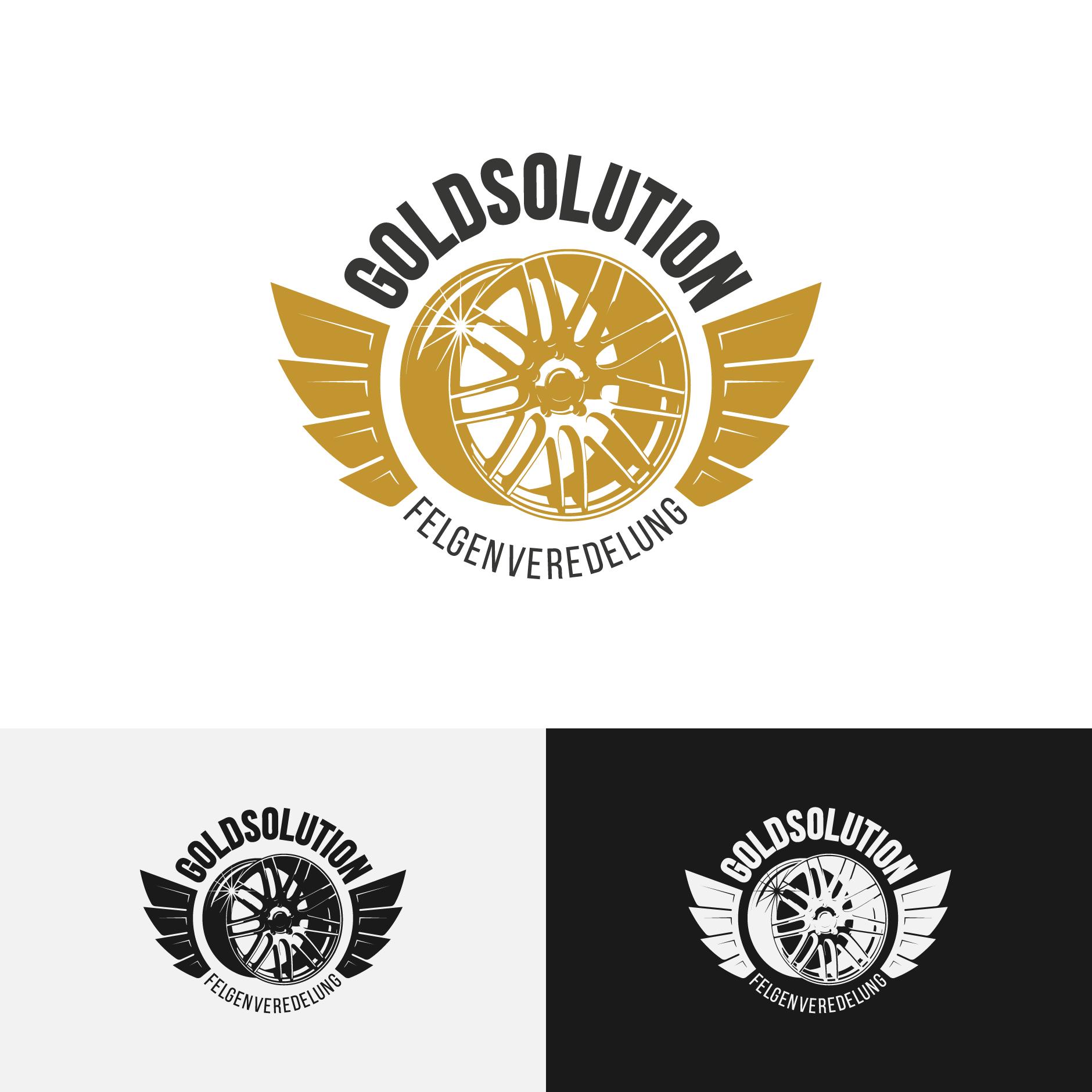 GOLDSOLUTION logodesign-Logodesign Goldsolution