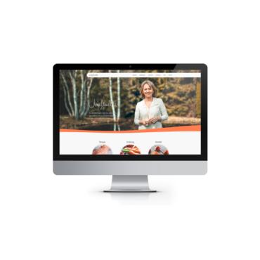 Webdesign Homepage Anja Muckle