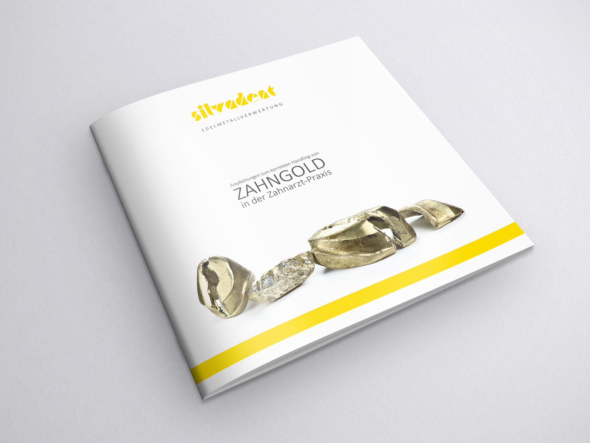 silvadent broschuere infoflyer zahngold altgold q4 1-Broschüre Silvadent