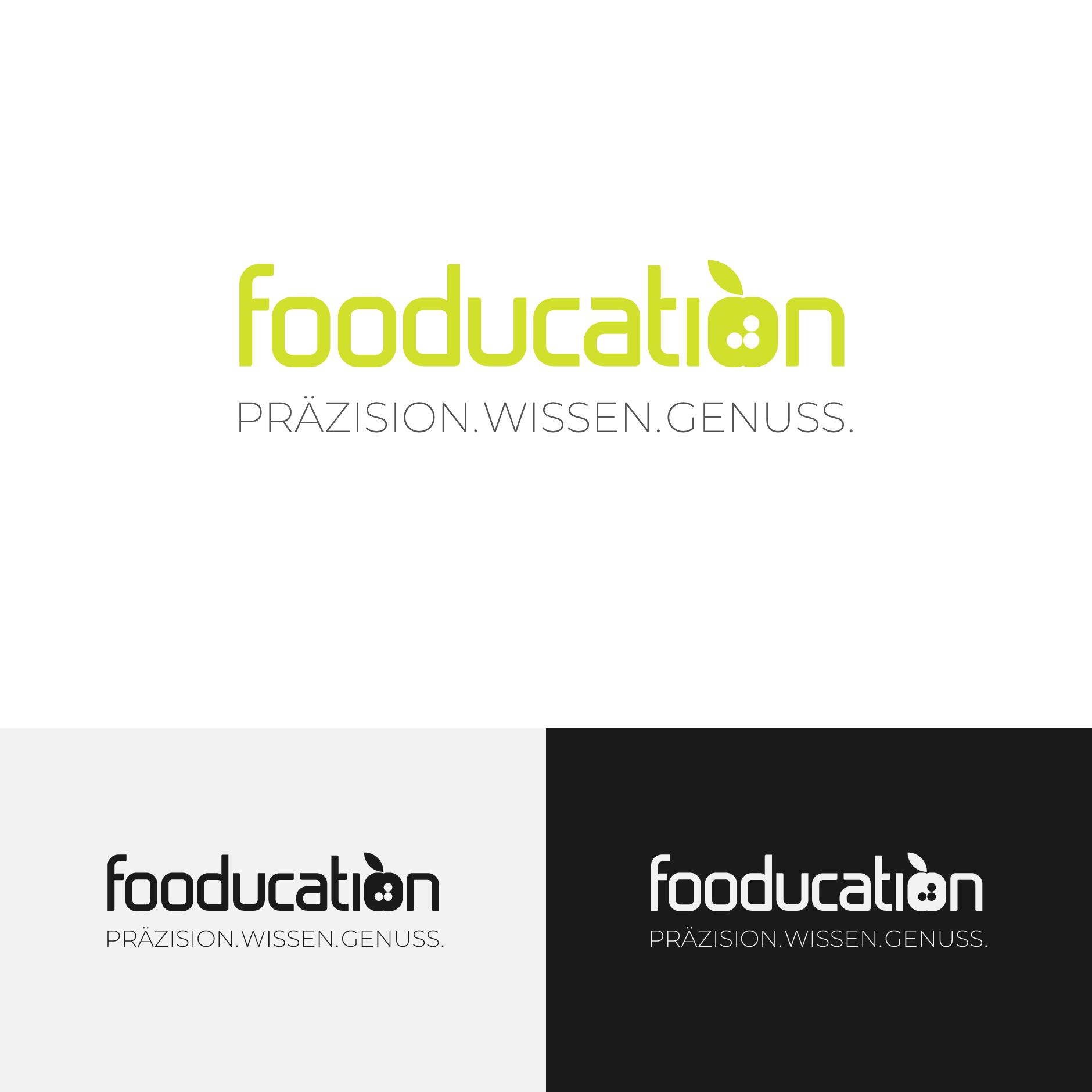 fooducation logo design-Logodesign fooducation