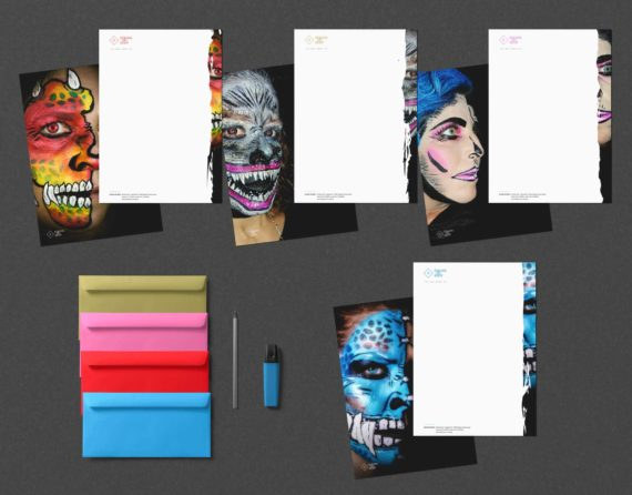 briefpapier design colors on body 570x446-Corporate Identity COLORS ON BODY