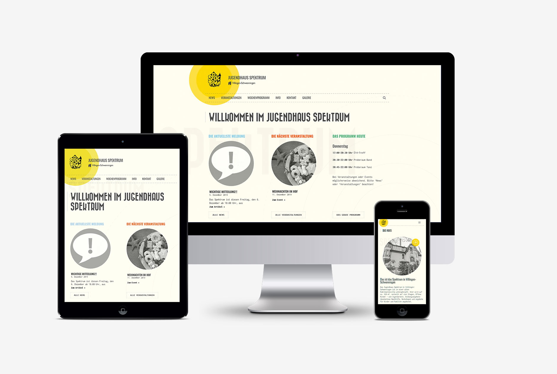 jugendhaus spektrum villingen schwenningen webdesign wordpress-Webdesign Jugendhaus Spektrum